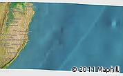 Satellite 3D Map of Cabo Guinjata