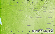 Physical Map of Belambiry