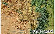 "Satellite Map of the area around 24°2'59""S,46°49'30""E"