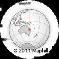 Outline Map of Nipan, rectangular outline