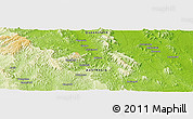 Physical Panoramic Map of Golembil