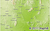 """Physical Map of the area around 24°32'42""""S,45°58'30""""E"""