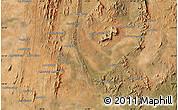 "Satellite Map of the area around 24°32'42""S,45°58'30""E"