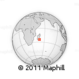 "Outline Map of the Area around 24° 32' 42"" S, 48° 31' 29"" E, rectangular outline"