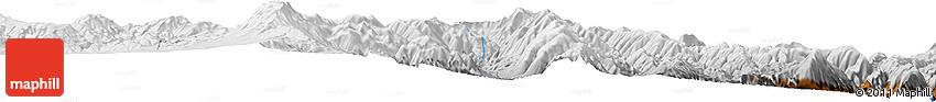 Physical Horizon Map of Incahuasi