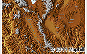 Physical Map of Xiazhuang