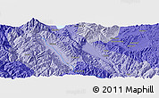 """Political Panoramic Map of the area around 25°22'6""""N,100°22'30""""E"""