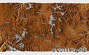 Physical 3D Map of Pupeng