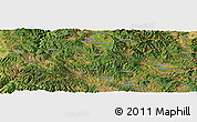Satellite Panoramic Map of Guantun