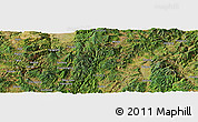 Satellite Panoramic Map of Anle