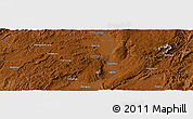 Physical Panoramic Map of Qujing