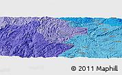 Political Panoramic Map of Gaoxing