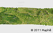 Satellite Panoramic Map of Bahuai