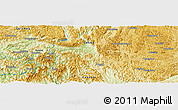 Physical Panoramic Map of Luyintang