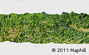 Satellite Panoramic Map of Cuoyang