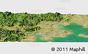 Satellite Panoramic Map of Dingdian
