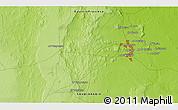 Physical 3D Map of Al Hufūf