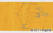 Political 3D Map of Al Hufūf
