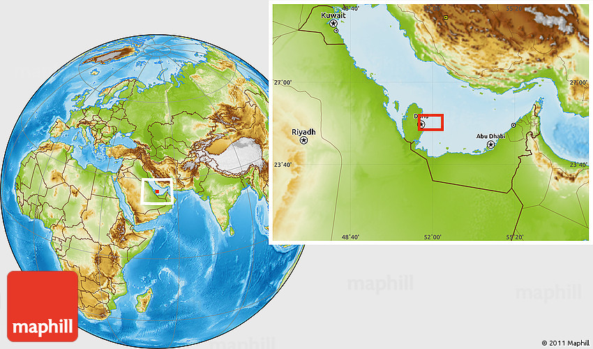 Physical location map of doha 2d sciox Image collections