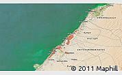 Satellite 3D Map of Umm al Qaywayn