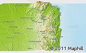 Physical 3D Map of Muraytah