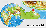 Physical Location Map of Muraytah