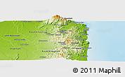 Physical Panoramic Map of Muraytah