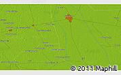 Physical 3D Map of Tando Jām