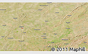 Satellite 3D Map of Bhīlwāra