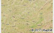 Satellite Map of Bhīlwāra