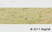 Satellite Panoramic Map of Bhīlwāra
