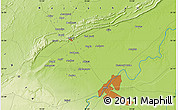 Physical Map of Kota