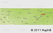 Physical Panoramic Map of Jhānsi