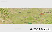 Satellite Panoramic Map of Jhānsi