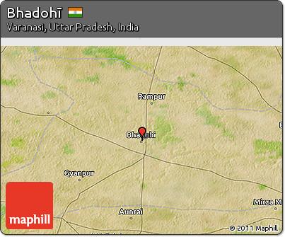 Free Satellite 3D Map of Bhadoh