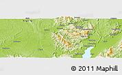 Physical Panoramic Map of Hkoma