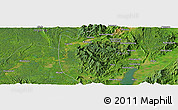 Satellite Panoramic Map of Hkoma