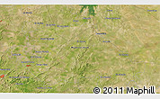"""Satellite 3D Map of the area around 25°22'6""""N,99°22'30""""W"""