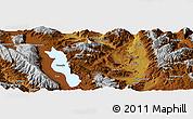 Physical Panoramic Map of Dali