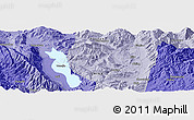 """Political Panoramic Map of the area around 25°51'37""""N,100°22'30""""E"""