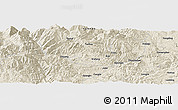 Shaded Relief Panoramic Map of Guanglu