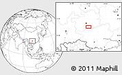 Blank Location Map of Dashabo