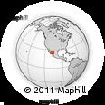 Outline Map of Sierra Madre Occidental, rectangular outline