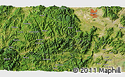 Satellite 3D Map of Dongying
