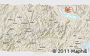 Shaded Relief 3D Map of Dongying