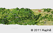 Satellite Panoramic Map of Anmayang