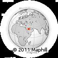 Outline Map of `Unayzah, rectangular outline
