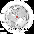 Outline Map of Tumair, rectangular outline