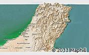 Satellite 3D Map of Ra's al Khaymah