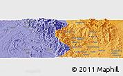 Political Panoramic Map of Hkachangkawng